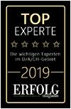 Top-Experte-Siegel 2019 für Stefan Heller, Trainer, Unternehmensberater und NLP Experte