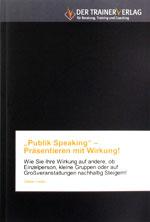 Buch Publik Speaking von Stefan Heller IKFV