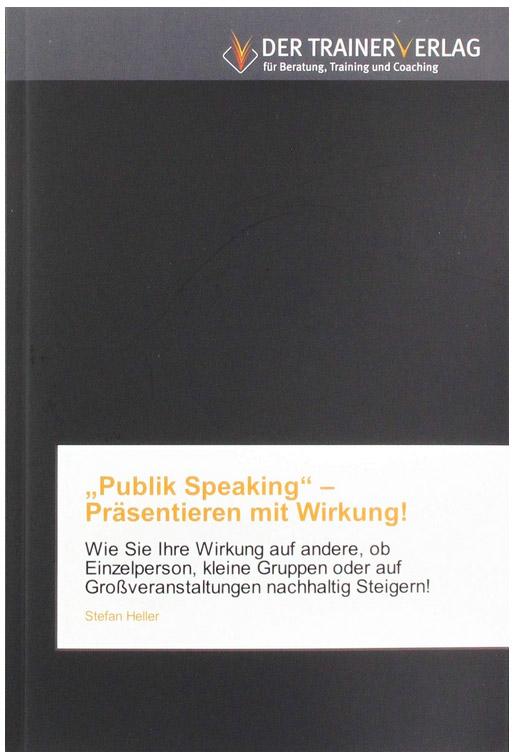 Public Speaking - Buchveröffentlichung Stefan Heller IKFV